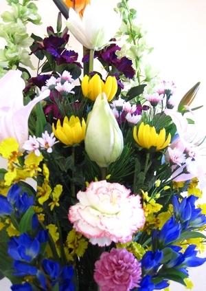 寺院本堂用-造花仏花 Lサイズ