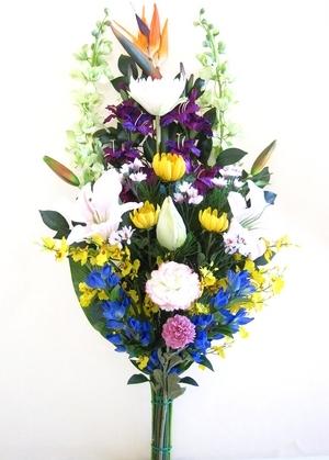 寺院本堂用-造花仏花 サイズ用全体